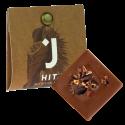 Mléčná čokoláda 53% s kousky bobů 4g